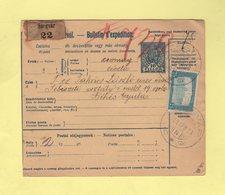 Hongrie - Szegvar - Bulletin De Colis Postal - 1918 - Paketmarken