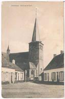 Santhoven (Zandhoven) - Zicht Op De Kerk 1912 (Geanimeerd) - Zandhoven