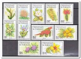 Trinidad & Tobago 1989, Postfris MNH, Flowers - Trinidad En Tobago (1962-...)