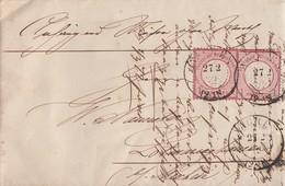 DR Brief Mef Minr.2x 4 K2 Aachen 27.2.72 - Briefe U. Dokumente