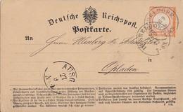 DR Karte EF Minr.18 K1 Düsseldorf 26.9.72 Geprüft - Briefe U. Dokumente