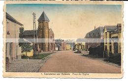 Lacuisine-sur-Semois Place De L'église Année 1939 - Florenville