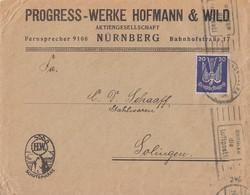 DR Brief EF Minr.346 Nürnberg - Deutschland