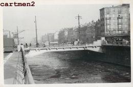 BRUXELLES PONT CHAUSSEE DE GAND CHANTIER TRAVAUX PUBLIC CONSTRUCTION GENIE CIVIL GRUE - Belgio