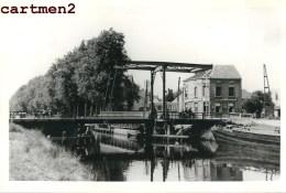 VAART LEUVEN MECHELEN MALINES PONT BATTEL CHANTIER TRAVAUX PUBLIC CONSTRUCTION GENIE CIVIL - Mechelen