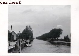 CANAL ENTRE WILLEBROEK ET KAPELLE OP DEN BOS BRUXELLES-RUPEL MARINE CHANTIER TRAVAUX PUBLIC CONSTRUCTION GENIE CIVIL - Willebroek