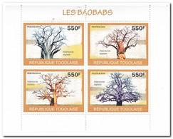 Togo 2010, Postfris MNH, Trees - Togo (1960-...)