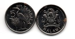 Malawi - 5 Tambala 1995 XF+/aUNC- With Dots Ukr-OP - Malawi