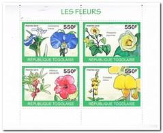 Togo 2010, Postfris MNH, Flowers - Togo (1960-...)