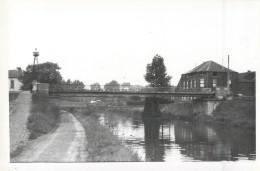PONT-A-CELLES CANAL DE CHARLEROI CHANTIER TRAVAUX PUBLICS CONSTRUCTION GENIE CIVIL - Pont-a-Celles