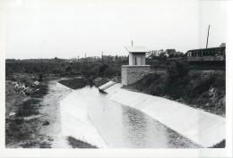 PONT-A-CELLES VENTURI PIETON CANAL DE CHARLEROI CHANTIER TRAVAUX PUBLICS CONSTRUCTION GENIE CIVIL - Pont-a-Celles