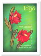 Togo 2000, Postfris MNH, Flowers, Cactus Orchidee - Togo (1960-...)