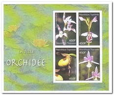 Togo 2006, Postfris MNH, Flowers, Orchids - Togo (1960-...)