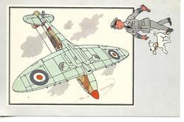 Voir Et Savoir Par Hergé. Aviation Guerre 1939 - 1945. Vickers Supermarine. Grande-Bretagne. Tintin Et Milou (Avion ) - Vieux Papiers