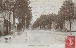 51-3- SEZANNE - AVENUE DE LA GARE - Sezanne