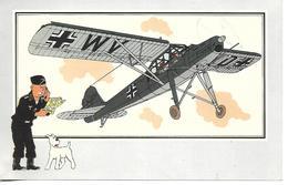 Voir Et Savoir Par Hergé. Aviation Guerre 1939 - 1945. Fieseler Storch 1939 Allemagne. Tintin Et Milou (Avion ) - Vieux Papiers