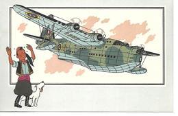 Voir Et Savoir Par Hergé. Aviation Guerre 1939 - 1945. Short S-25 Sunderland 1938 Grd Bretagne. Tintin Et Milou (Avion ) - Vieux Papiers