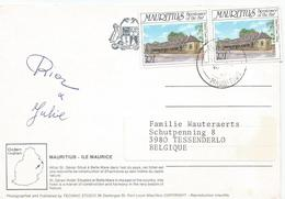 Mauritius 1987 Floreal Court Justice Viewcard - Mauritius (1968-...)