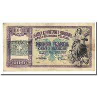 Billet, Albania, 100 Franga, Undated (1945), KM:14, TB+ - Albanie