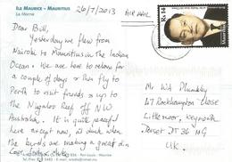 Mauritius 2013 Port Louis Sir Moillin Chuen Viewcard - Mauritius (1968-...)