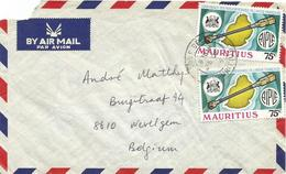Mauritius 1975 Rose Belle Parlementarians Conference Map Cartography Cover - Mauritius (1968-...)