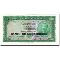 Billet, Mozambique, 100 Escudos, 1961-03-27, KM:109a, TTB - Mozambique