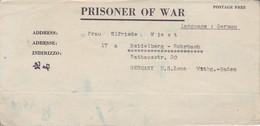 POW Kriegsgefangenenpost PWE 412 5th Lab. Supv. Area APO 21 Nach Heidelberg - 1946 (36183) - Vereinigte Staaten