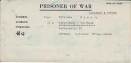 POW Kriegsgefangenenpost PWE 412 5th Lab. Supv. Area APO 21 Nach Heidelberg - 1946 (36184) - Vereinigte Staaten