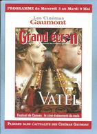 """Vatel"" De Roland Joffé (judaïca) Avec Gérard Depardieu Uma Thurman Tim Roth 2 Scans (gastronomie) - Cinema Advertisement"
