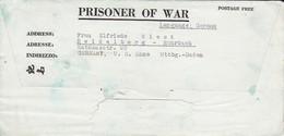 POW Kriegsgefangenenpost PWE 412 5th Lab. Supv. Area APO 772 Nach Heidelberg - 1945 (36187) - Vereinigte Staaten
