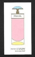 F -Carte à Sprayer Prada- Candy  - Perfume Card - UK - Cartes Parfumées