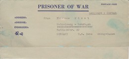 POW Kriegsgefangenenpost PWE 445 165th Lab. Supv. Center APO 21 Nach Heidelberg - 1946 (36188) - Vereinigte Staaten