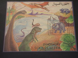 SOMALIA - BF 1993 DINOSAURI - NUOVO(++).. - Somalia (1960-...)