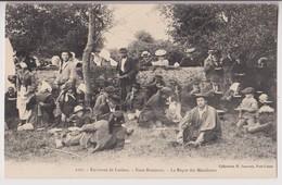 ENVIRONS DE LORIENT (56) : NOCE BRETONNE - LE REPAS DES MENDIANTS - COLLECTION H. LAURENT PORT LOUIS - 2 SCANS - - Lorient