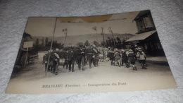 BEAULIEU CORRÈZE  INAUGURATION DU PONT - Other Municipalities