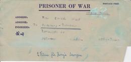 POW Kriegsgefangenenpost PWE 445 165th Lab. Supv. Center APO 21 Nach Heidelberg - 1946 (36195) - Vereinigte Staaten
