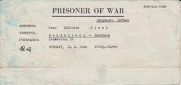 POW Kriegsgefangenenpost PWE 412 5th Lab. Supv. Area APO 772 Nach Heidelberg - 1946 (36198) - Vereinigte Staaten