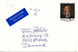 Aland Cover Sent To Denmark 21-7-1993 Single Franked - Aland