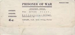 POW Kriegsgefangenenpost PWE 412 5th Lab. Supv. Area APO 772 Nach Heidelberg - 1946 (36199) - Vereinigte Staaten