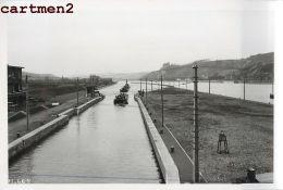 YVOZ-RAMET IVOZ-RAMET CANAL CHANTIER TRAVAUX PUBLICS CONSTRUCTION GENIE CIVIL Grue Peniche Camion Bulldozer - Liège
