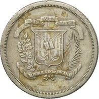 Monnaie, Dominican Republic, 25 Centavos, 1981, TB, Copper-nickel, KM:51 - Dominicaine