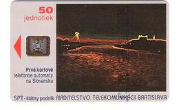 Slovakia - P1 - Bratislava In Night - CN : 44053 - Rare - Glossy - Slowakei