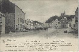 Beauraing.    -   La Grand' Place.  -   1901   Winenne  Naar  Ciney - Beauraing