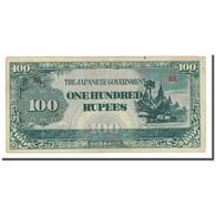 Billet, Birmanie, 100 Rupees, Undated (1944), KM:17a, TTB - Myanmar
