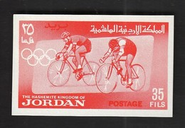 Jordan / Olympic Games Tokyo 1964 / Cycling / Michel 442 B / MNH - IMPERFORATED - Ete 1964: Tokyo