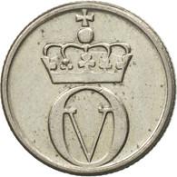 Monnaie, Norvège, Olav V, 10 Öre, 1967, TTB+, Copper-nickel, KM:411 - Norvège