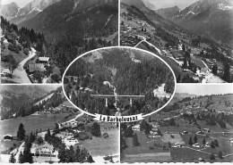 SUISSE  ( VAUD VD ) LA BARBOLEUSAZ : Multivues  - CPSM Dentelée Noir Et Blanc GF - Swiss Switzerland Schweiz - France