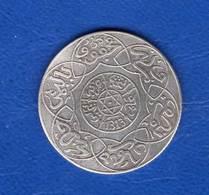 Maroc  1/4 Rial  1313  Arg - Maroc