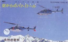 Télécarte   Hélicoptère (743) HELICOPTER - CHOPPER - Hubschrauber - HELICÓPTERO - Elicottero - Avion - Avions