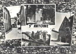SAINT ANTOINE MULTIVUES MAIRIE VIEILLE RUE CHATEAU DE FLAMARENS EGLISE 32 - Francia